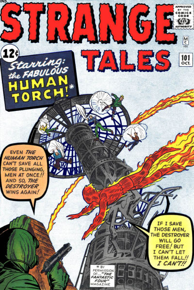 Cover for Strange Tales (Marvel, 1951 series) #101