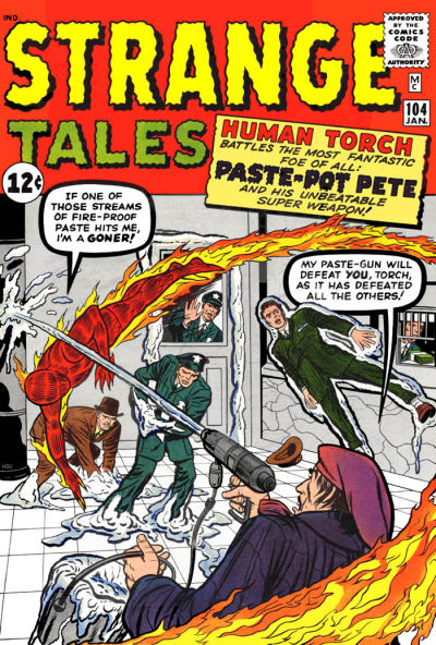 Cover for Strange Tales (Marvel, 1951 series) #104