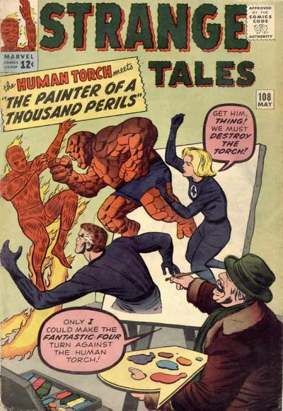Cover for Strange Tales (Marvel, 1951 series) #108