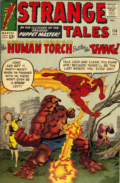 Cover for Strange Tales (1951 series) #116