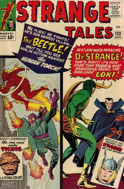 Cover for Strange Tales (Marvel, 1951 series) #123