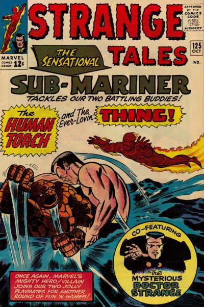 Cover for Strange Tales (Marvel, 1951 series) #125