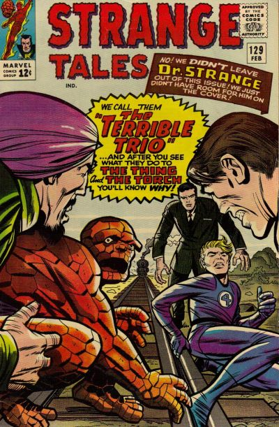 Cover for Strange Tales (1951 series) #129