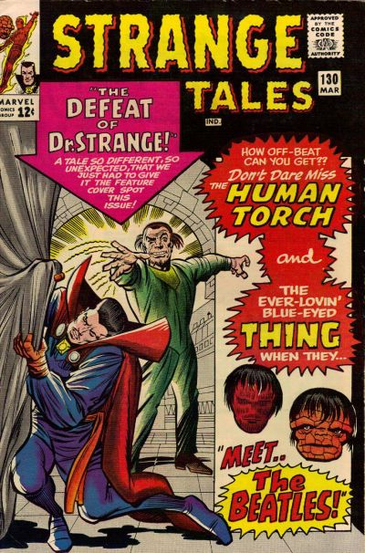 Cover for Strange Tales (1951 series) #130