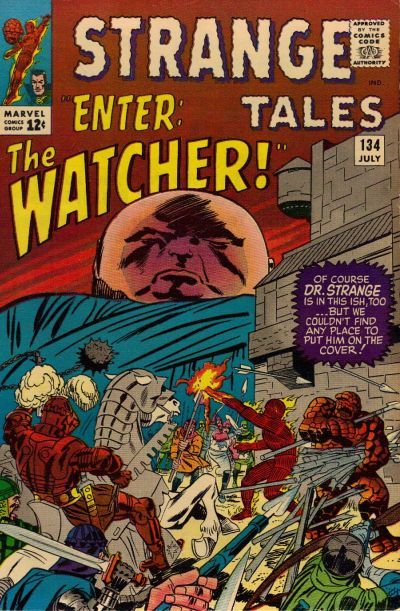 Cover for Strange Tales (Marvel, 1951 series) #134