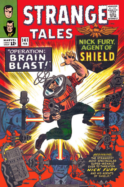 Cover for Strange Tales (Marvel, 1951 series) #141