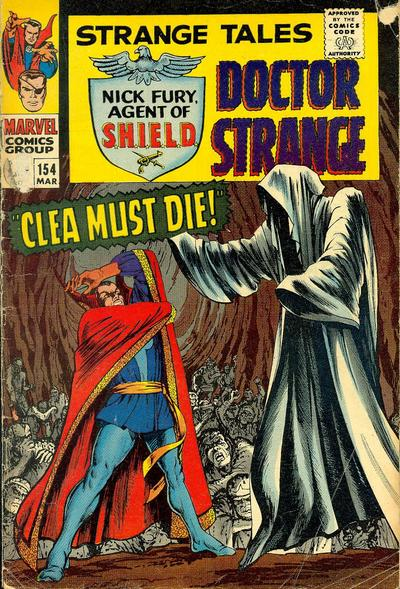 Cover for Strange Tales (Marvel, 1951 series) #154