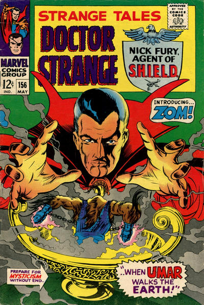 Cover for Strange Tales (1951 series) #156