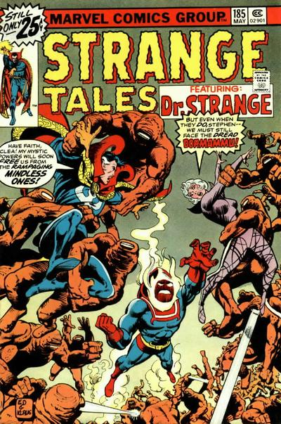 Cover for Strange Tales (1973 series) #185