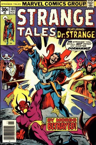 Cover for Strange Tales (Marvel, 1973 series) #188