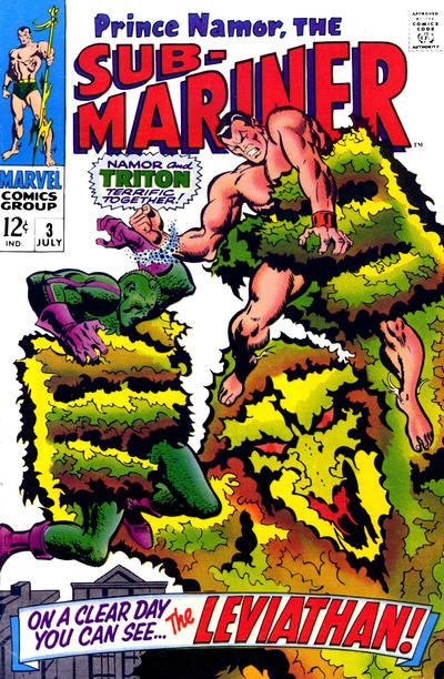 Cover for Sub-Mariner (Marvel, 1968 series) #3