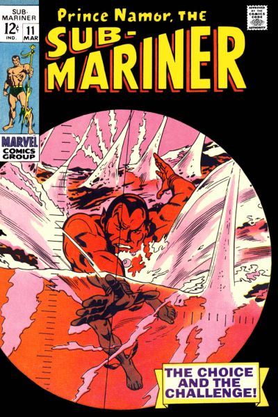 Cover for Sub-Mariner (Marvel, 1968 series) #11