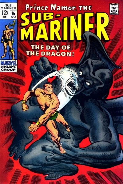Cover for Sub-Mariner (Marvel, 1968 series) #15
