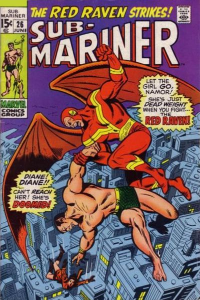 Cover for Sub-Mariner (1968 series) #26