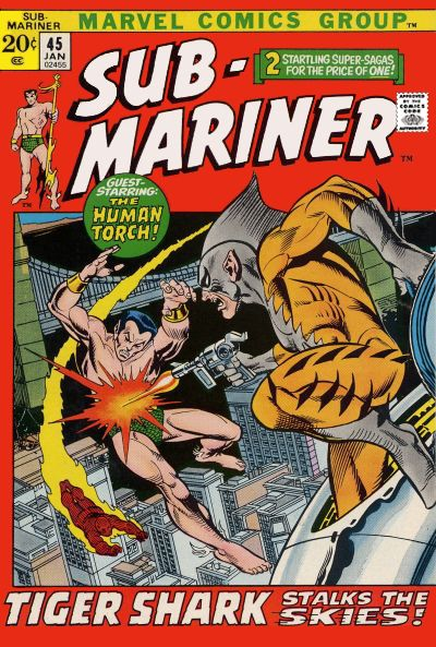Cover for Sub-Mariner (Marvel, 1968 series) #45 [Regular Edition]