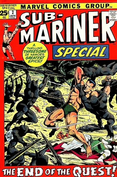 Cover for Sub-Mariner Special (Marvel, 1971 series) #2