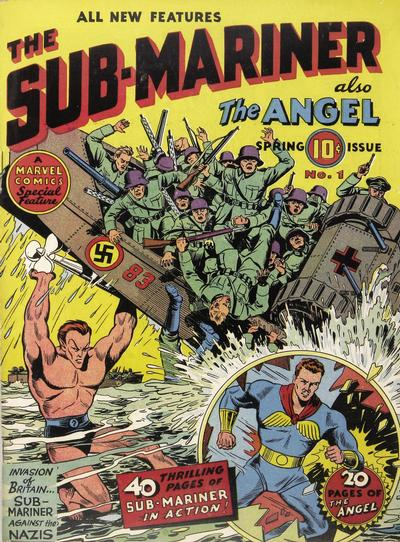 Cover for Sub-Mariner Comics (Marvel, 1941 series) #1