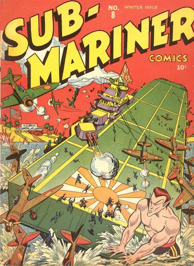 Cover for Sub-Mariner Comics (Marvel, 1941 series) #8