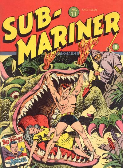 Cover for Sub-Mariner Comics (Marvel, 1941 series) #11