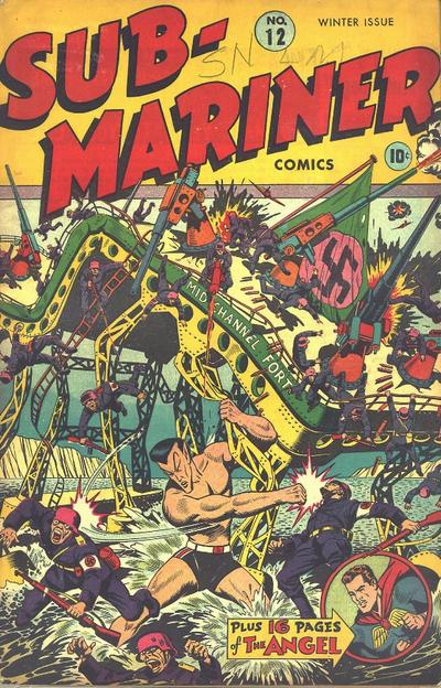 Cover for Sub-Mariner Comics (Marvel, 1941 series) #12