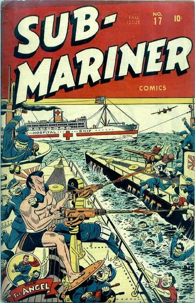 Cover for Sub-Mariner Comics (Marvel, 1941 series) #17