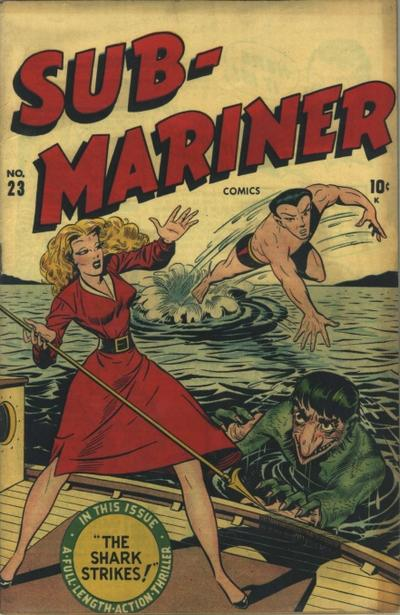 Cover for Sub-Mariner Comics (Marvel, 1941 series) #23