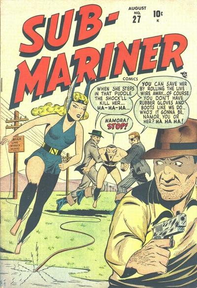 Cover for Sub-Mariner Comics (Marvel, 1941 series) #27