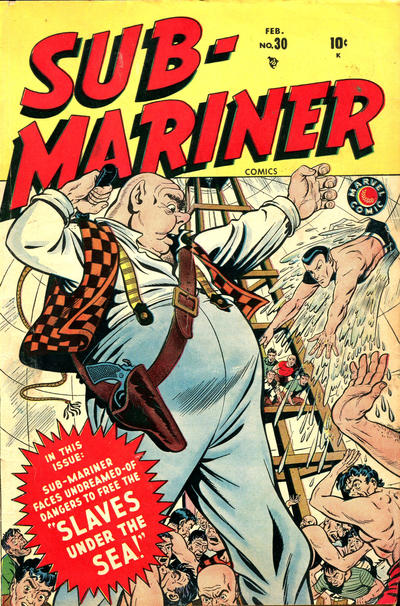 Cover for Sub-Mariner Comics (Marvel, 1941 series) #30
