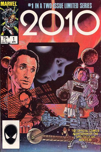 Cover for 2010 (1985 series) #1