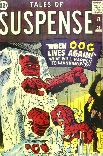 Cover for Tales of Suspense (1959 series) #27