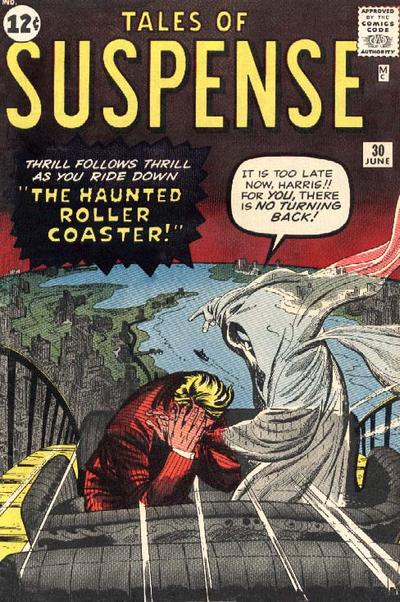 Cover for Tales of Suspense (Marvel, 1959 series) #30