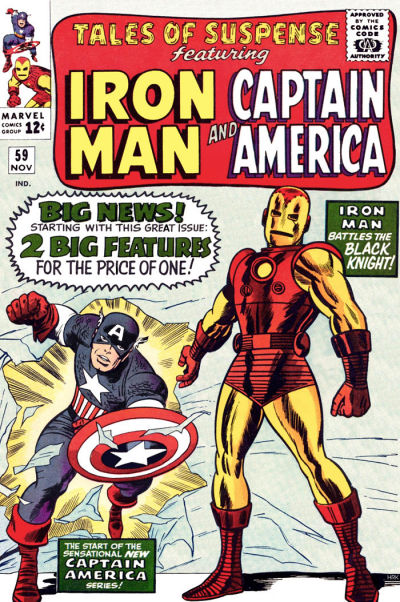 Cover for Tales of Suspense (Marvel, 1959 series) #59