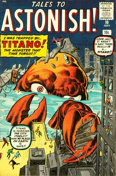 Cover for Tales to Astonish (1959 series) #10