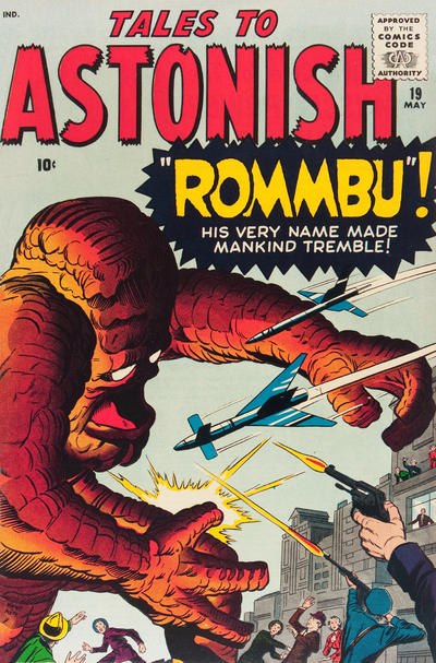 Cover for Tales to Astonish (1959 series) #19