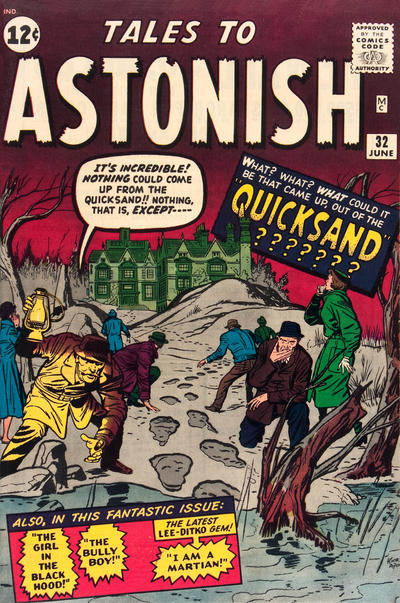 Cover for Tales to Astonish (Marvel, 1959 series) #32