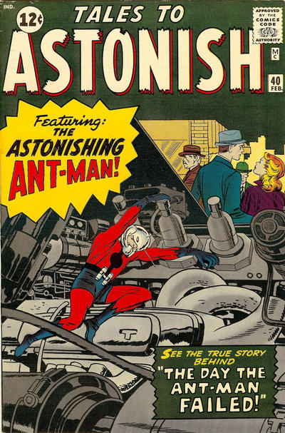 Cover for Tales to Astonish (Marvel, 1959 series) #40