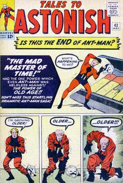 Cover for Tales to Astonish (1959 series) #43