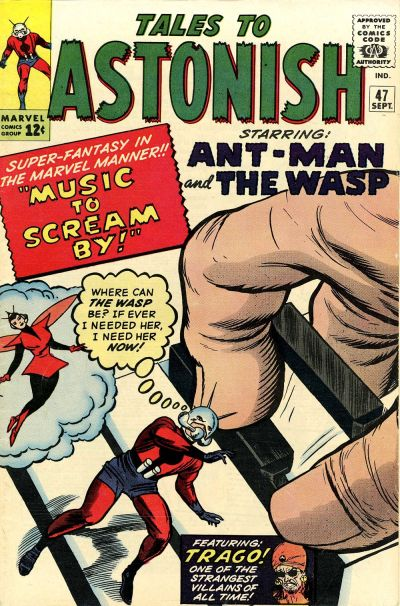 Cover for Tales to Astonish (Marvel, 1959 series) #47