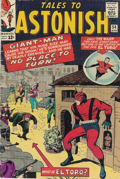 Cover for Tales to Astonish (Marvel, 1959 series) #54