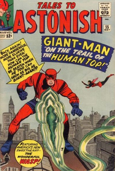 Cover for Tales to Astonish (1959 series) #55