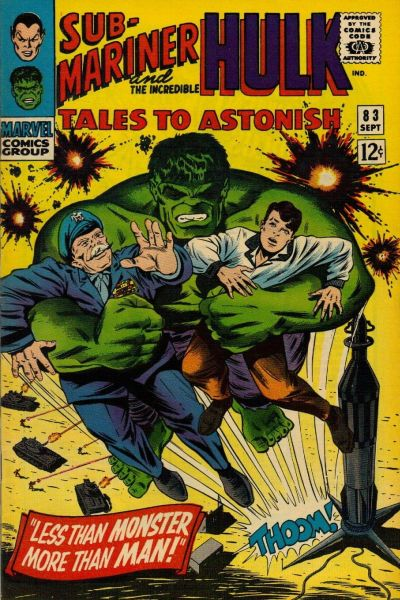 Cover for Tales to Astonish (Marvel, 1959 series) #83