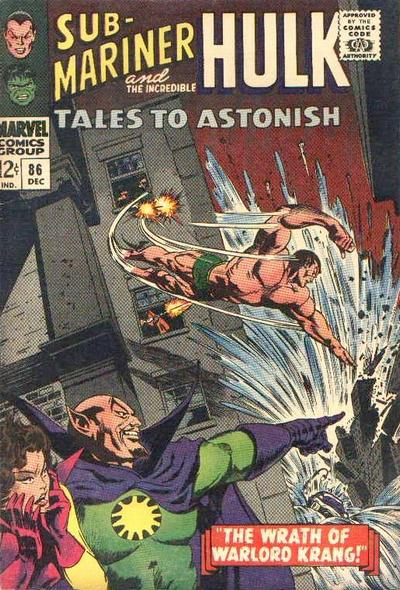 Cover for Tales to Astonish (Marvel, 1959 series) #86