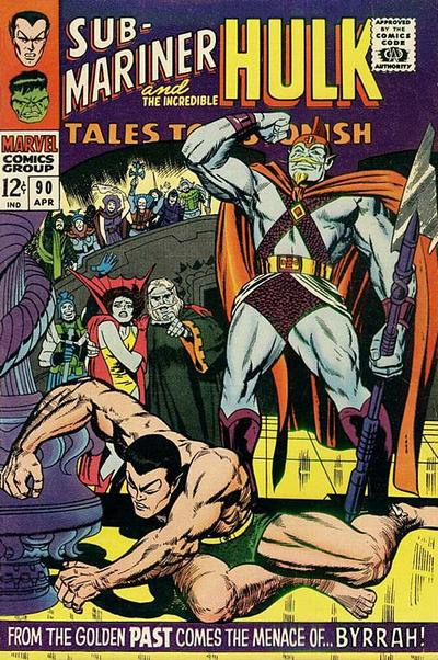 Cover for Tales to Astonish (Marvel, 1959 series) #90