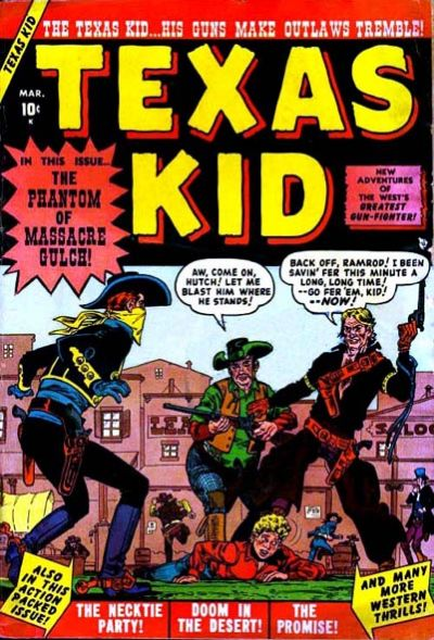 Cover for Texas Kid (1951 series) #2