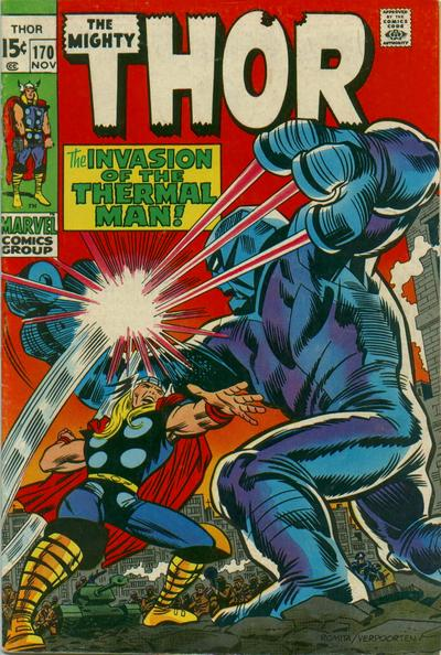 Cover for Thor (Marvel, 1966 series) #170