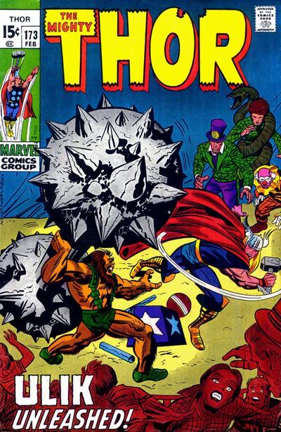 Cover for Thor (Marvel, 1966 series) #173