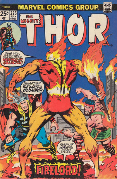 Cover for Thor (1966 series) #225