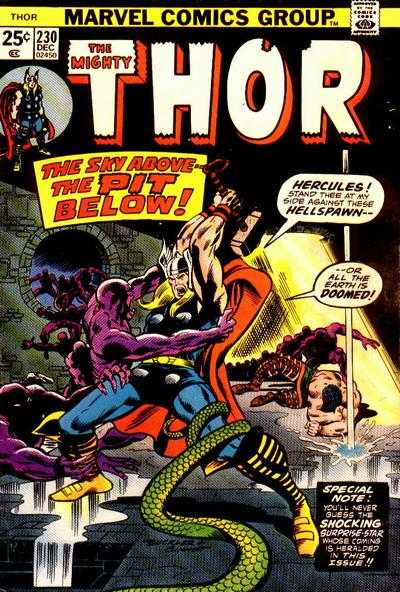 Cover for Thor (1966 series) #230