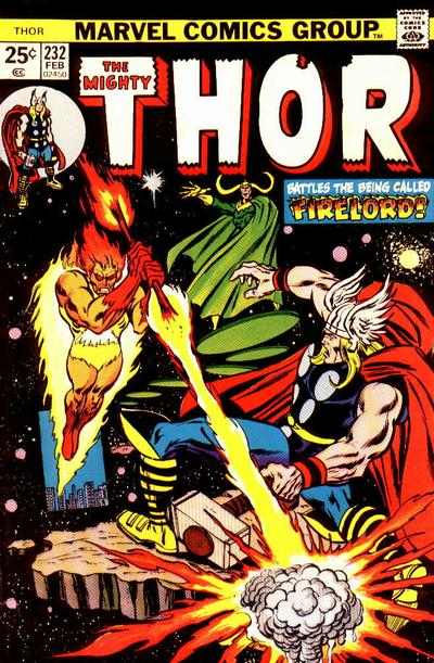 Cover for Thor (Marvel, 1966 series) #232 [Regular Edition]