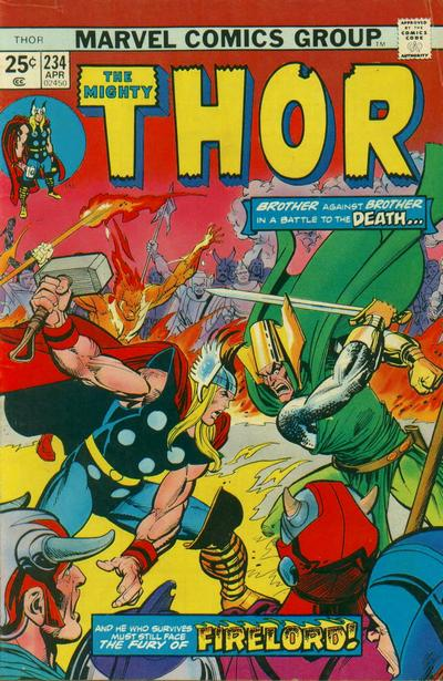 Cover for Thor (1966 series) #234
